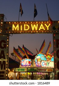 Midway at Agricultural Fair