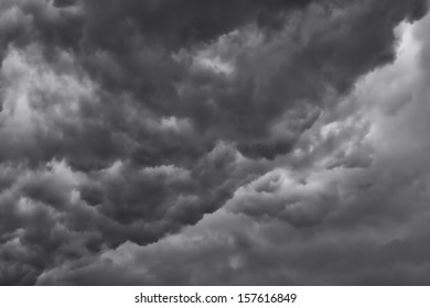 Mid-West Storm Cloud - A mid-western severe spring storm cloud packed with rain, lightning and powerful winds.
