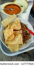 Mie Ayam ( chicken noodle), Indonesian cuisine