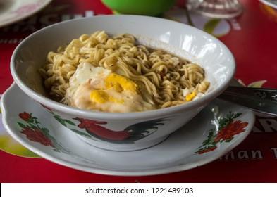 MIE REBUS - Indonesian style noodle soup.