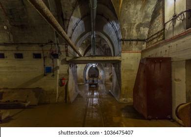 The Miedzyrzecz Fortification Region - inside of the Nazi Germany fortification system, Poland.