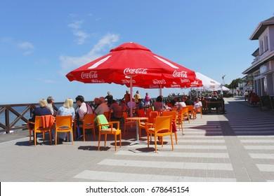 Coca Cola Umbrella Images Stock Photos Vectors Shutterstock