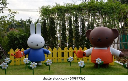 Miffy zone in the Santorni Park ,Cha-am,Thailand