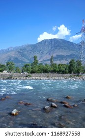 Mighty Blue Clear Sindhu River