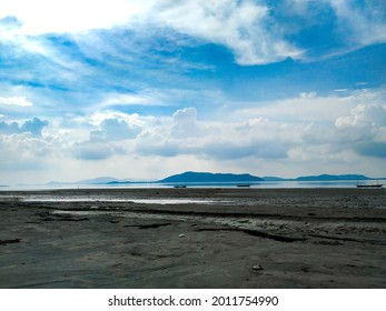 The mighty Brahmaputra River in Assam India