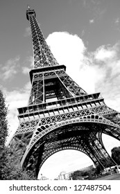 The mighty Eiffel Tower in Perspective