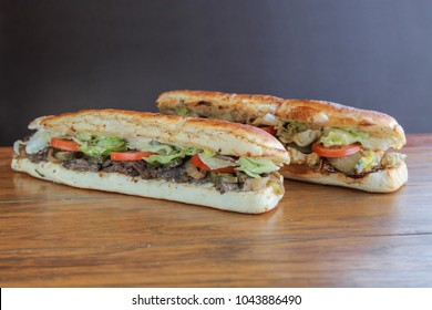 Mighty extra large sandwiches