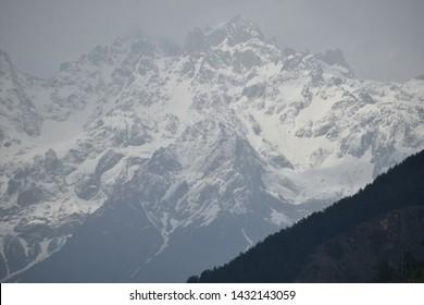 mighty Himalayas, Parvati valley, Tosh, Kasol, Himachal Pradesh, India