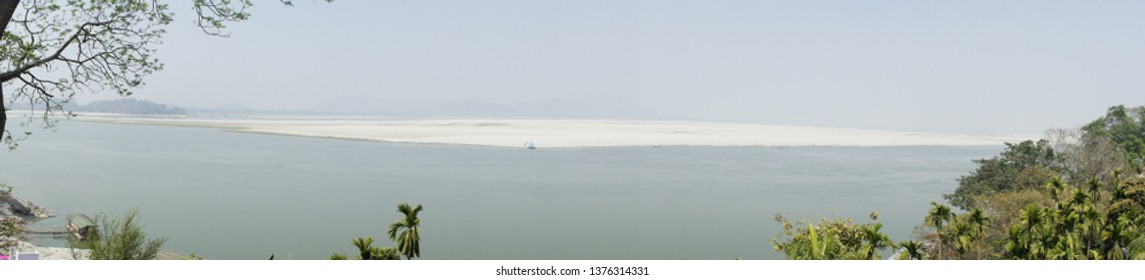 The mighty River Brahmaputra