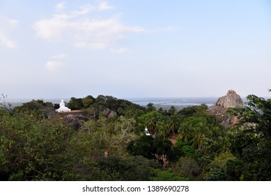 Mihintale ancient rock and city Sri Lanka