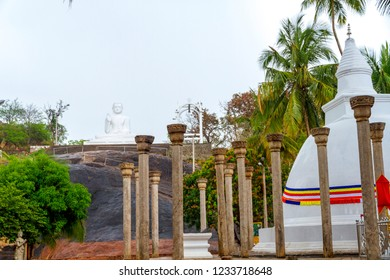 Mihintale - Sri lanka - Circa 2013 - the ruins on the mountain believed to be the place where Buddhism was introduced to Sri Lanka
