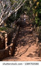 Mihintale temple entrance Sri Lanka