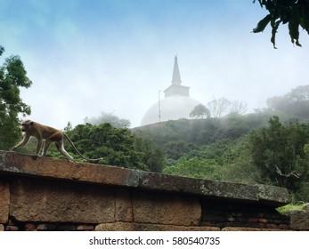 Mihintale Temple in Sri Lanka