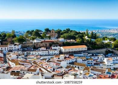 Mijas Panoramic, Costa del Sol Occidental, Malaga, Andalusia, Spain, Iberian Peninsula