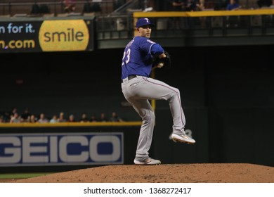 Mike Minor pitcher for the Texas Rangers  at Chase Field in Phoenix, Arizona/USA April 9,2019.