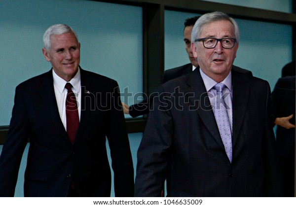 Mike Pence Vice President United States Stock Photo Edit Now 1046635009