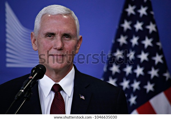 Mike Pence Vice President United States Stock Photo Edit Now 1046635030
