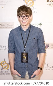 Mikey Murphy attends Celebrity Connected 2017 Luxury Gifting Suite Honoring The Academy Awards, February 25, 2017 in Millennium Biltmore Hotel, Los Angeles California.