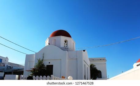 Mikonos Church - Greece