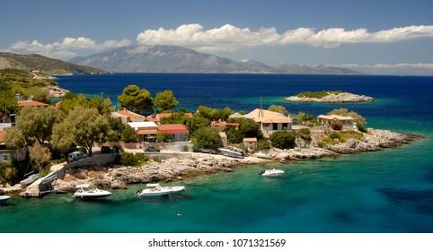 Mikro Nisi village in Zakynthos Greece 2016