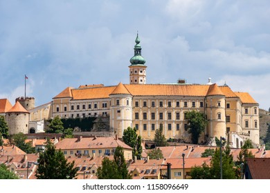 Mikulov Castle is in the town of Mikulov in South Moravia, Czech Republic