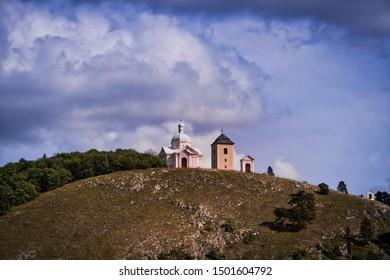 Mikulov Holy Hill, St. Sebastian Chapel is landmark of city