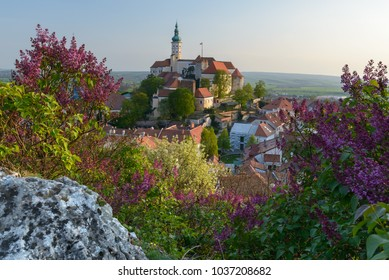 Mikulov in South Moravia, state castle