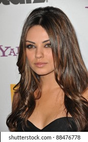 Mila Kunis at the 14th Annual Hollywood Awards Gala at the Beverly Hilton Hotel. October 25, 2010  Beverly Hills, CA Picture: Paul Smith / Featureflash