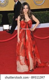 Mila Kunis at the 17th Annual Screen Actors Guild Awards at the Shrine Auditorium. January 30, 2011  Los Angeles, CA Picture: Paul Smith / Featureflash