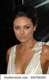 Mila Kunis  at the Los Angeles Premiere of 'Max Payne'. Grauman's Chinese Theatre, Hollywood, CA. 10-13-08