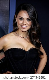 Mila Kunis at the Los Angeles premiere of 'Jupiter Ascending' held at the TCL Chinese Theater in Hollywood on February 2, 2015.