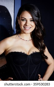 """Mila Kunis at the Los Angeles premiere of """"Jupiter Ascending"""" held at the TCL Chinese Theater in Los Angeles, USA on February 2, 2015."""