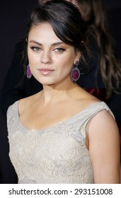 Mila Kunis at the 'Oz The Great And Powerful' Los Angeles Premiere at the Dolby Theater on April 10, 2013 in Hollywood, California.