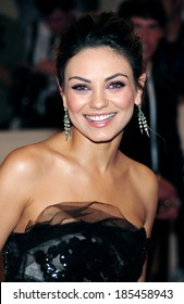 Mila Kunis at Part 2-American Woman Fashioning a National Identity Benefit Gala Co-Hosted by GAP for the Costume Institute, The Metropolitan Museum of Art, New York May 3, 2010