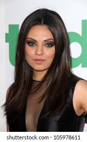 """Mila Kunis at the """"Ted"""" World Premiere, Chinese Theater, Hollywood, CA 06-21-12"""