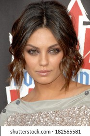 Mila Kunis at Third Annual VH1 ROCK HONORS THE WHO, UCLA's Pauley Pavilion, Los Angeles, CA, July 12, 2008