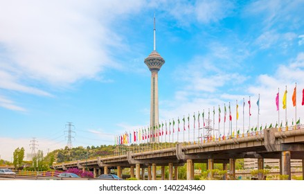 The Milad Tower in Tehran - Iran