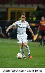 "Milan  Italy, 14 March 2013,"" G.Meazza - San Siro""  Stadium, UEFA Europa League 2012/2013 ,FC Inter - FC Tottenham : Scott Parker in action during the match"