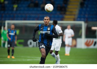 "Milan  Italy, 14 March 2013,"" G.Meazza - San Siro""  Stadium, UEFA Europa League 2012/2013 ,FC Inter - FC Tottenham : Juan Jesus in action during the match"