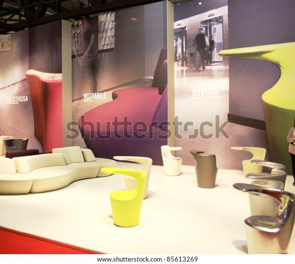 Milan April 15 Home Interior Design Stock Photo (Edit Now