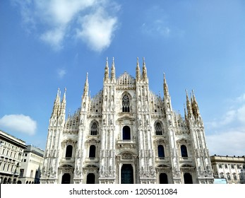 Milan Cathedral  or Duomo di Milano  cathedral church of Milan in Lombardy  northern Italy 20 March 2018