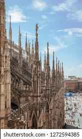 Milan Cathedral (Duomo di Milano) in Milan, Milan,  Italy, Europe