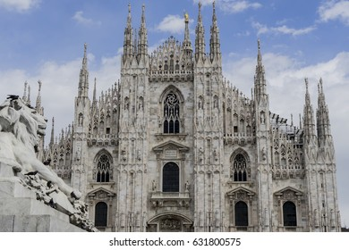 Milan Cathedral, Duomo di Milano, one of the largest churches in litaly