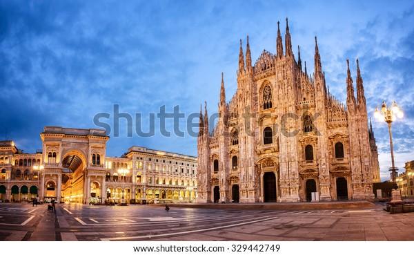 Mailänder Dom, Duomo di Milano, eine der größten Kirchen der Welt