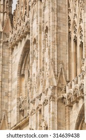 Milan Cathedral (Duomo di Milano)is the cathedral church of Milan, Italy. The Gothic cathedral took  six centuries to complete. The 5th largest church in the world and the 2nd largest in Italy.