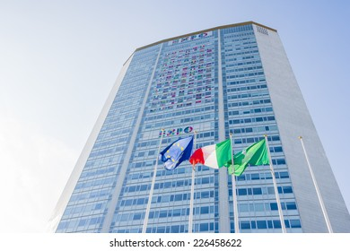 MILAN - CIRCA SEPTEMBER 2014: Pirelli's Tower, headquarters of Regional Government of Lombardy. The city will host the Universal Exposition, in 2015.