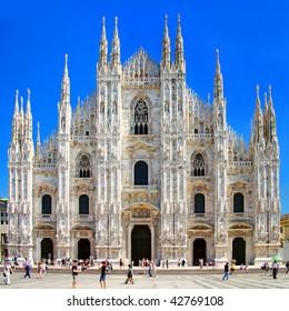 Milan dome - italian landmarks series