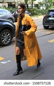 Milan Fashion Week Women SS 2020 - Fendi Spring/Summer 2020 show in Milan, Italy  on September 19, 2019. Spanish Gala Gonzalez