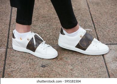 Louis Vuitton Shoes Images, Stock