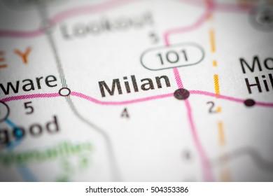 Milan Indiana Map.Milan Maps Stock Photos Images Photography Shutterstock